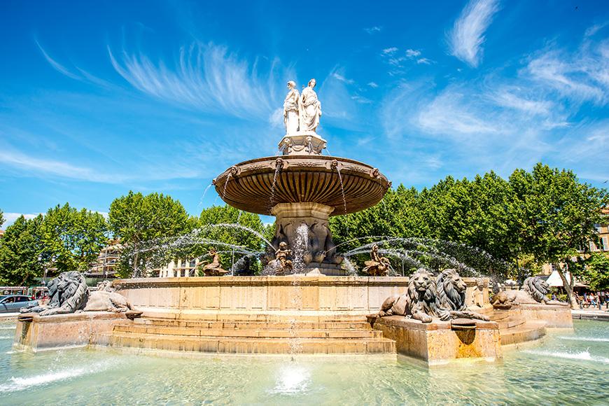 La Poste dAix-en-Provence   Place de lHôtel de ville